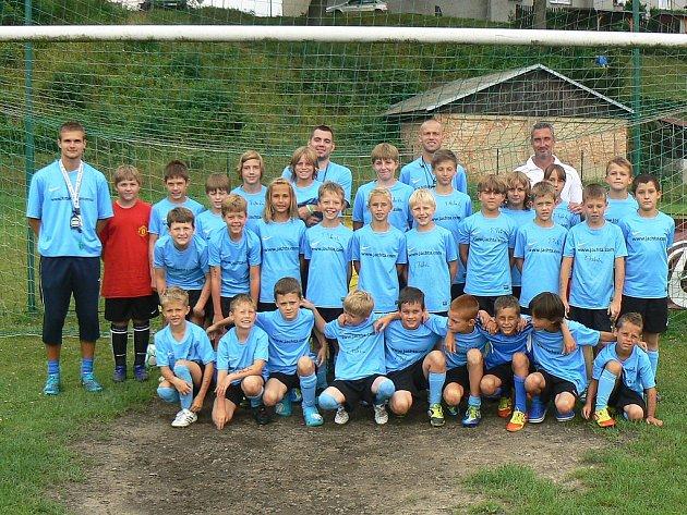 Na 1. ročník fotbalového kempu se do Heřmanic sjeli hráči ve věku od šesti do čtrnácti let.