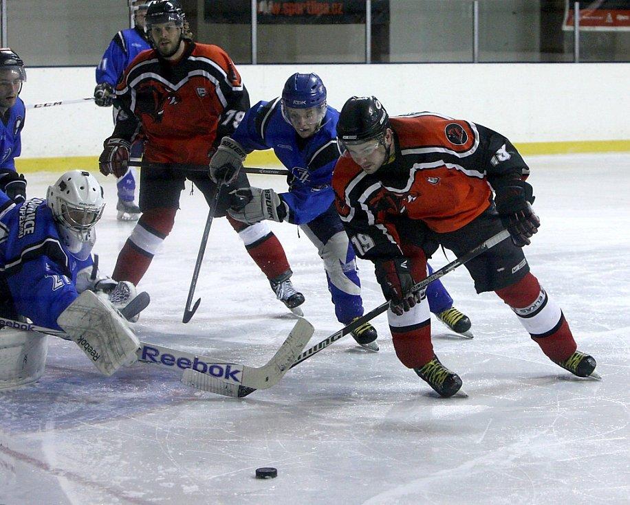 Třetí místo po základní části Krajské ligy mužů obsadili hokejisté České Lípy.