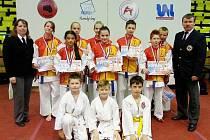 Sedm medailí přivezla výprava karatistů SSC Česká Lípa z Ústí n. Labem, kde se konalo Grand Prix.