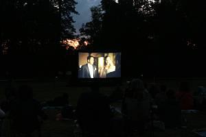 Letní kino, ilustrační foto.