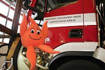 Maskotem celé akce bude plamínek libereckých hasičů Flambucha.