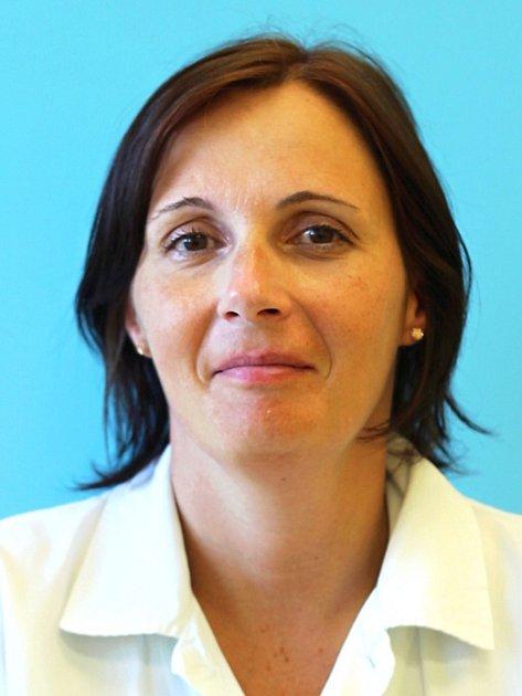 Vrchní sestra neurologického oddělení českolipské nemocnice Martina Zmeková.