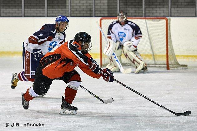 HC Česká Lípa - HC Slavoj Liberec 1:5 (0:1,0:4,1:0).