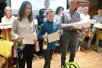 Slavnosti vyhlášení těch nejlepších proběhlo ve čtvrtek v Kozlovně na Slovance v České Lípě.