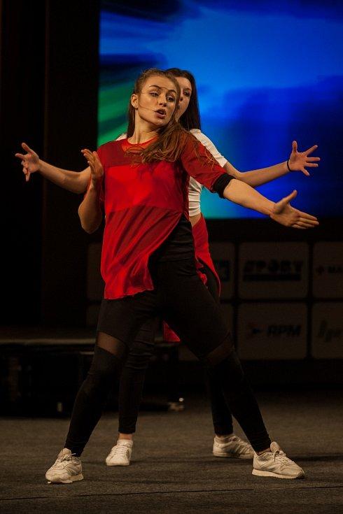 V doprovodném programu nechyběl tanec. Skvělé číslo předvedly tanečnice z českolipské skupiny Tutti Frutti.