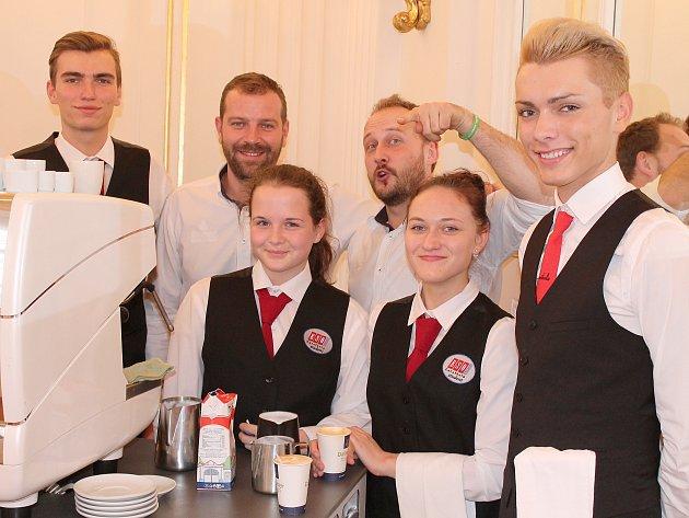 Studenti českolipské Euroškoly.