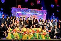 Vietnamci slavili příchod roku 2017 v Crystalu.