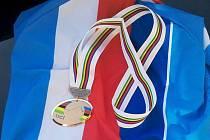 Bronzová medaile Kryštofa Bogara.