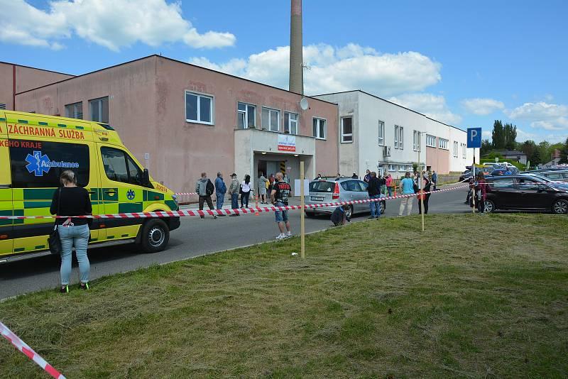 Očkovací centrum v České Lípě se přestěhovalo z kulturního domu Crystal do areálu českolipské nemocnice.