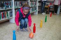 Den dětí v českolipské knihovně.