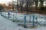 Psí park (hřiště) nechalo na žádost občanů vybudovat město.