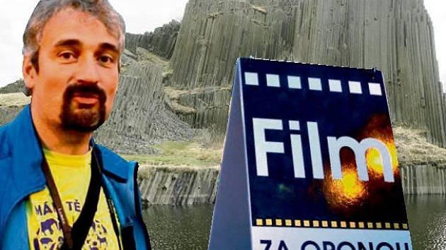 Film Za oponou noci natáčí režisér Dalibor Stach.