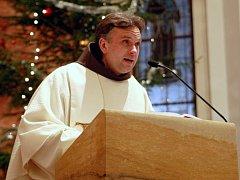Otec Bartoloměj, farář farnosti v Liberci - Rochlici a františkánský mnich.