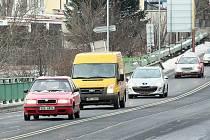 Na jaře mají začít práce na rekonstrukci velkého silničního mostu na hlavním průtahu Českou Lípou při vjezdu do města od jihu.