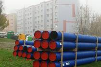 Potrubí na Špičáku čeká modernizace. SVS chce do konce března opravit celkem 1152 metrů vodovodu.