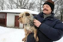 Útulek v Dobranově je tak plný nejen zatoulaných psů, ale i těch, které lidé už nemohou z finančích důvodů dále živit.  Potvrzuje to i provozovatel útulku Jan Vávra.