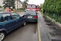Nehoda ve Vrchlického ulici v České Lípě