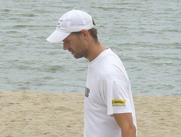 Aleš Potměšil skončil společně s Davidem Adamcem třetí.