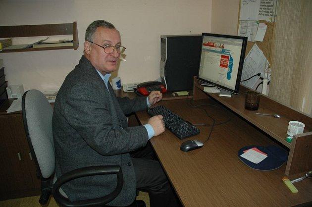 Místopředseda VV OFS Česká Lípa Karel Fischer.
