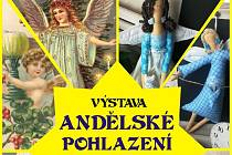 Výstava Andělské pohlazení.