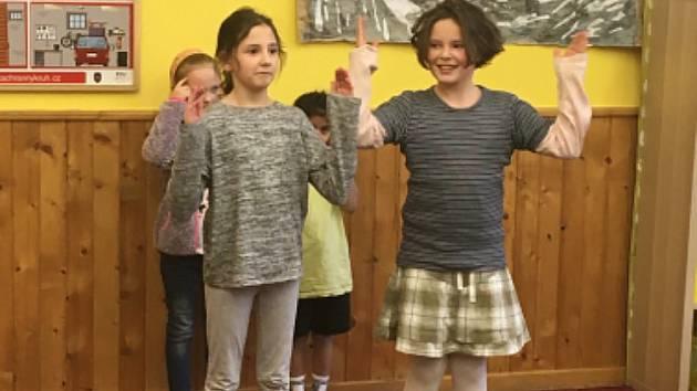 Máme talent - je název soutěžní přehlídky, která se uskutečnila ve školní družině.