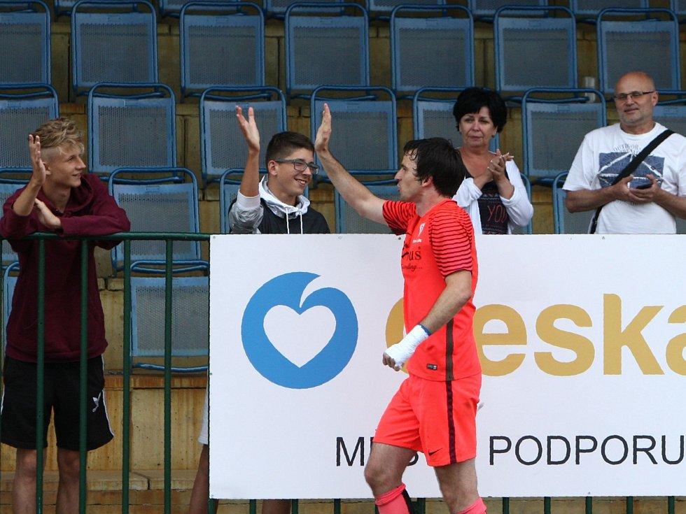 Jan Chadraba, hrající předseda FK Arsenal Česká Lípa.