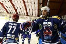 Martin Dejdar přivezl do České Lípy svůj hokejový tým.