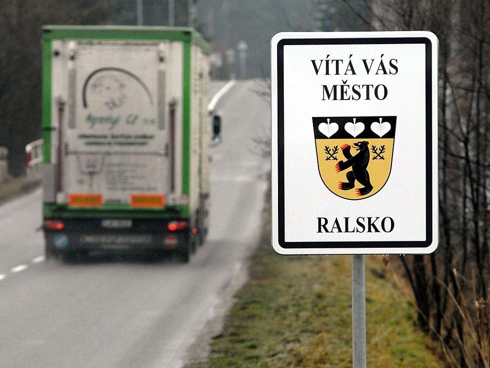 Město Ralsko.