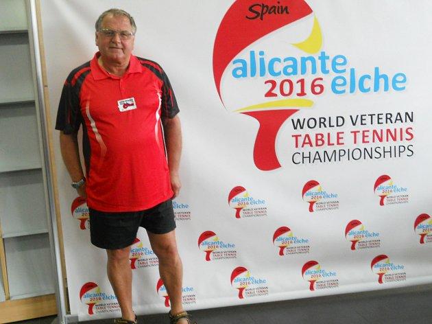 František Just - účastník MS a vítěz VC Hostinného.