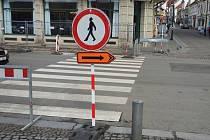 V Sokolské ulici se bude pracovat do poloviny června.