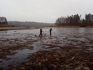 Máchovo jezero v prosinci 2016.