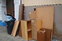 Ilustrační foto svoz nadměrného odpadu