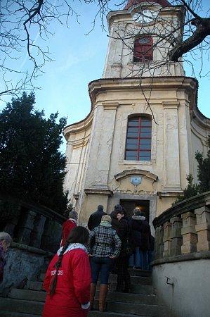 Holany: kostel sv. Maří Magdalské.