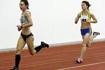 Českolipská atletka Tereza Hrochová (vpravo).
