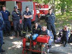 Doksští hasiči.