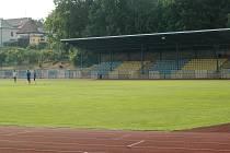 Městský stadion v České Lípě.