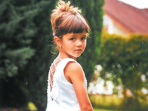 6. Julinka Galusová - 5let, Nový Bor.