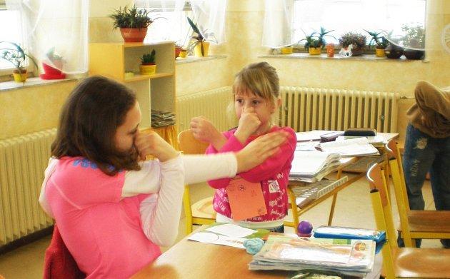 Předškoláci se ve škole především bavili