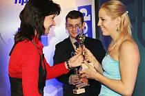 Loni oceněná plavkyně Petra Chocová.