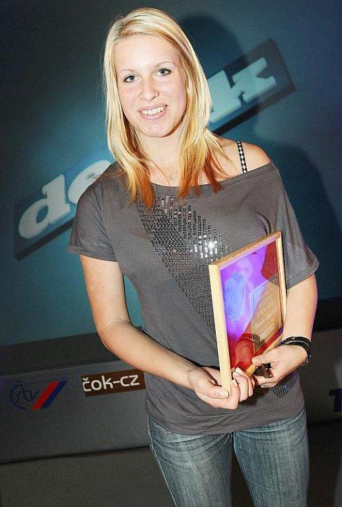Deník ocenil nejúspěšnější sportovce uplynulého roku. Hvězdou čtenářů Českolipského deníku se stala českolipská atletka Veronika Süssnerová.