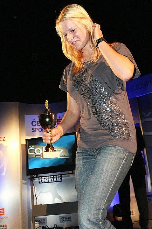 Deník ocenil nejúspěšnější sportovce uplynulého roku. Vítězkou mládežnické kategorie se stala českolipská atletka Veronika Süssnerová.