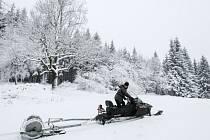 Odhadem šedesát kilometrů vyznačených stop pro běžkaře je teď napříč Lužickými horami od Prysku až po Cvikov.
