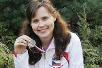 Zuzana Šostková získala bronzovou medaili.