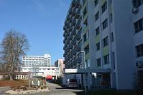 Nemocnice v České Lípě.