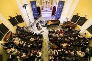 Mezinárodní hudební festival Lípa Musica pokračoval v Biberově kapli českolipského muzea.