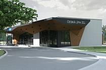 Budoucí podoba vlakového nádraží v České Lípě.
