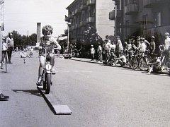 Snímek je z oslav Mezinárodního dne dětí v roce 1981. Další najdete v pátečním Deníku.