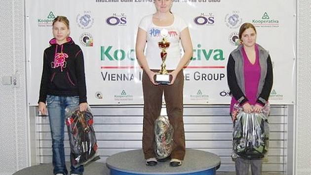 Klára Bartošová a Aneta Brabcová (zprava) dokázaly v silné konkurenci získat velmi cenná umístění.