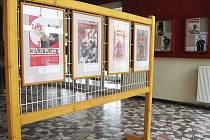 V květnu se expozice přesune z kina do Městské knihovny v Doksech.