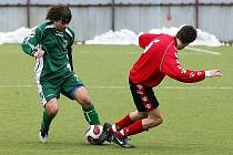 Fotbalisté Nového Boru mají nové sociální zařízení.